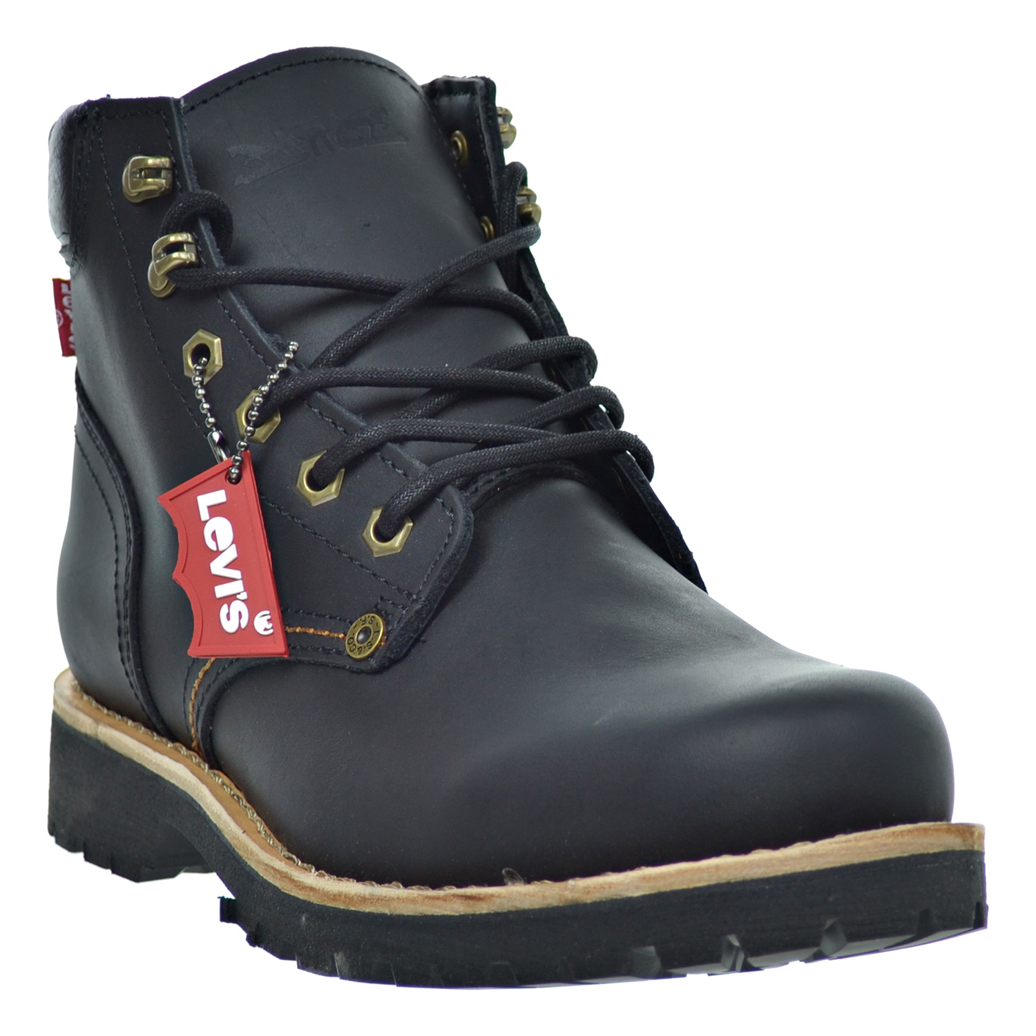 levis compass leather s boots black 516992 01a ebay