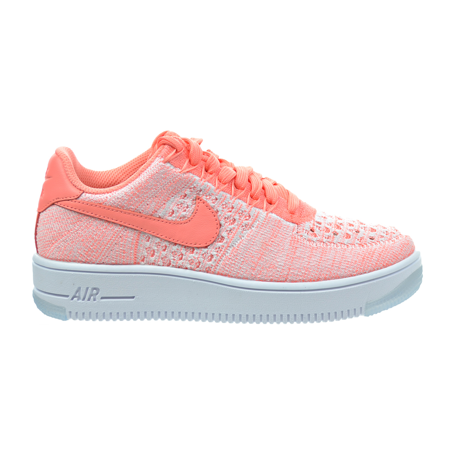 nike air force 1 flyknit low atomic pink extreme. Black Bedroom Furniture Sets. Home Design Ideas