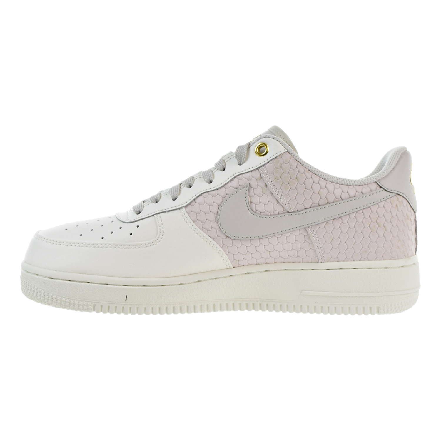 the latest 8864f 6c3b2 Nike Air Force 1 07 LV8 Men s Shoes Sail Light Bone Metallic Gold  823511-100 (10 D(M) US)
