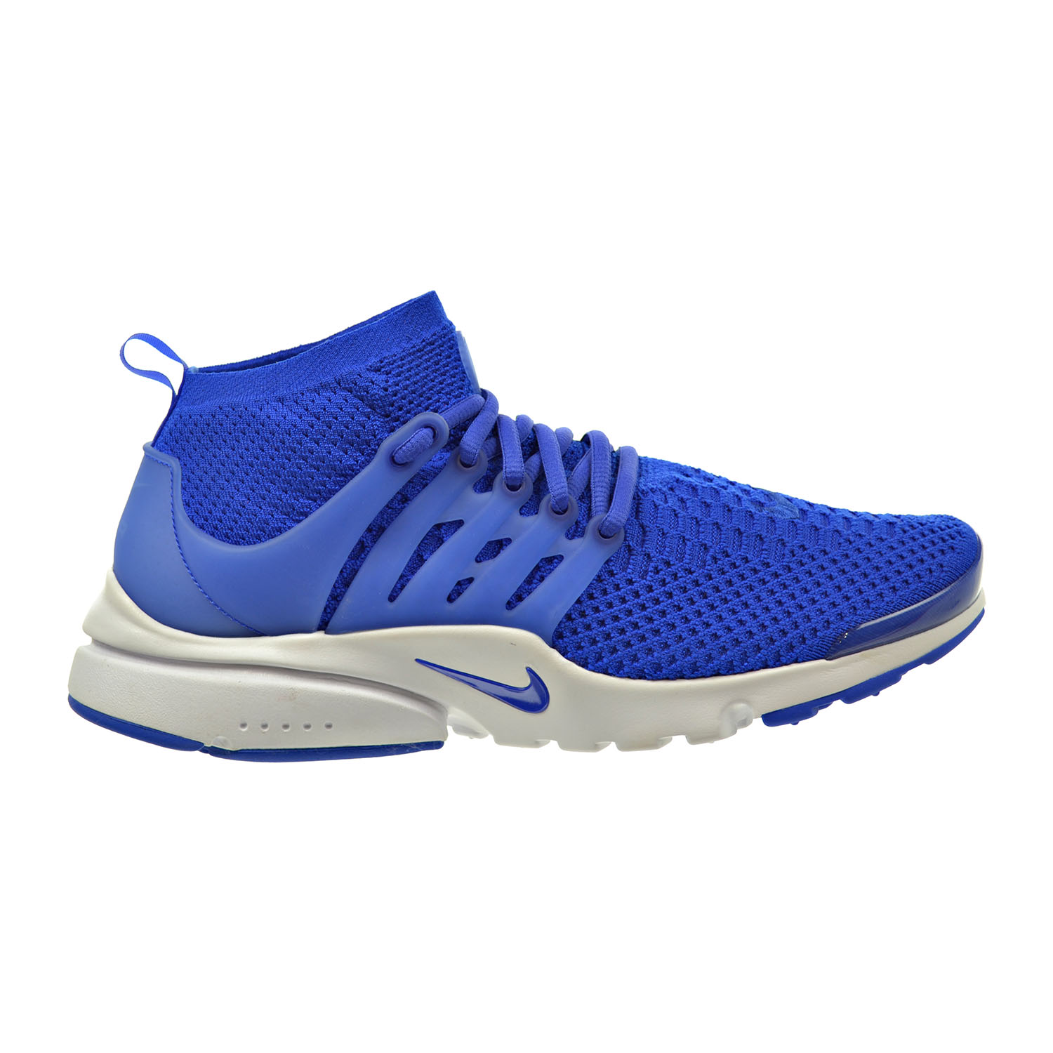 nike air presto flyknit ultra men 39 s shoes blue white total. Black Bedroom Furniture Sets. Home Design Ideas