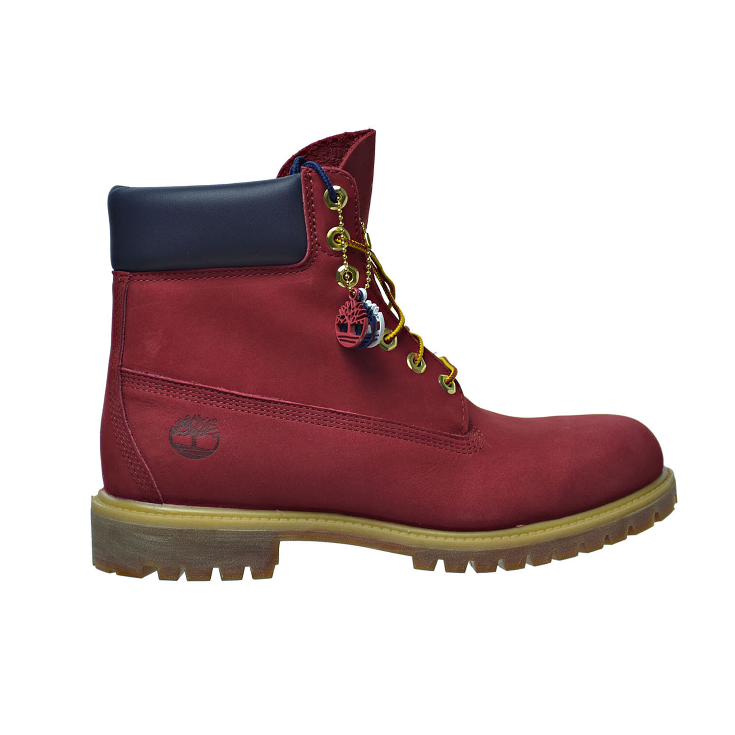 "Timberland 6 Inch Premium ""Patriotic Red"" Mens Boots Red ..."