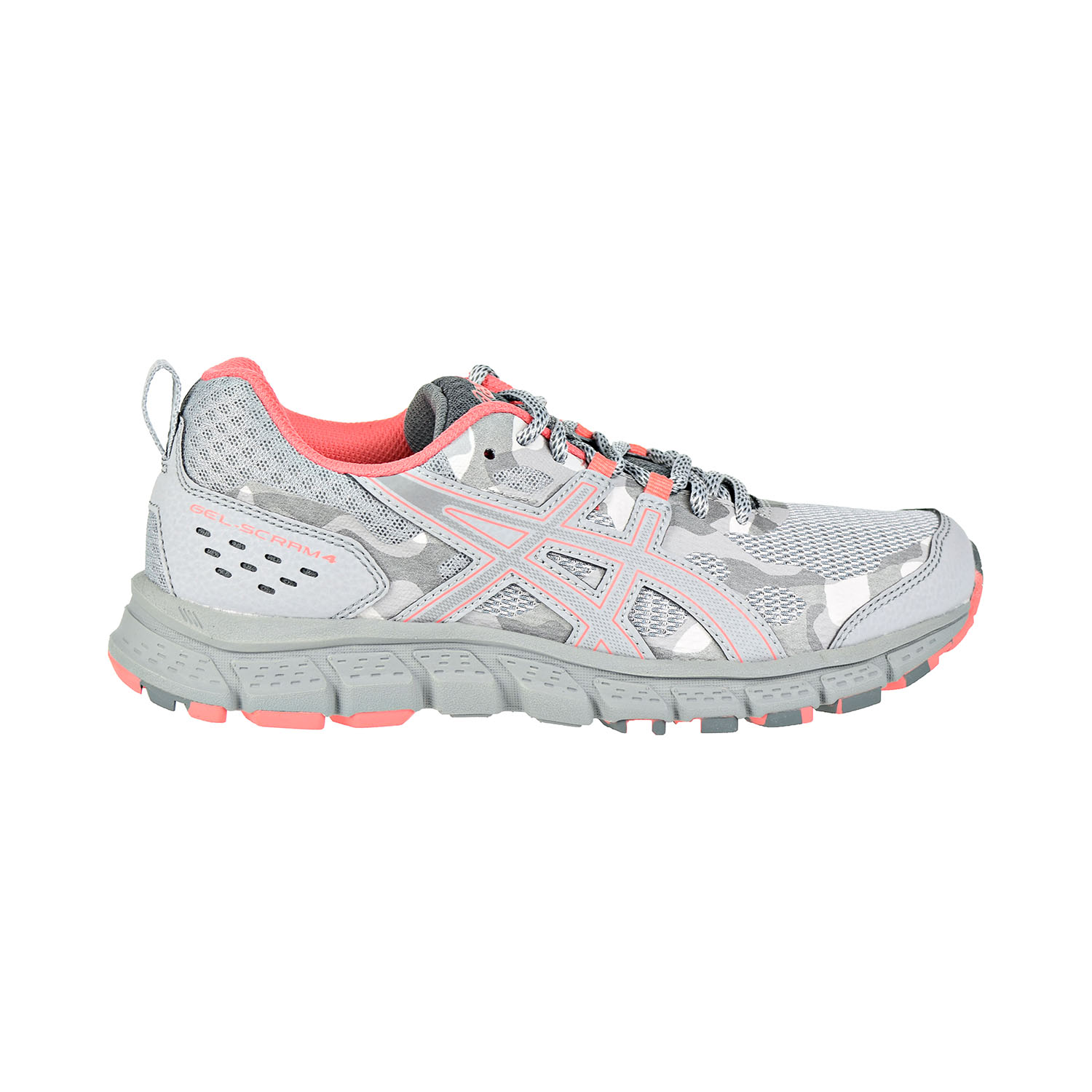 best service f96be b5f1d Details about Asics Gel-Scram 4 Women's Shoes Mid Grey/Stone Grey  1012A039-021