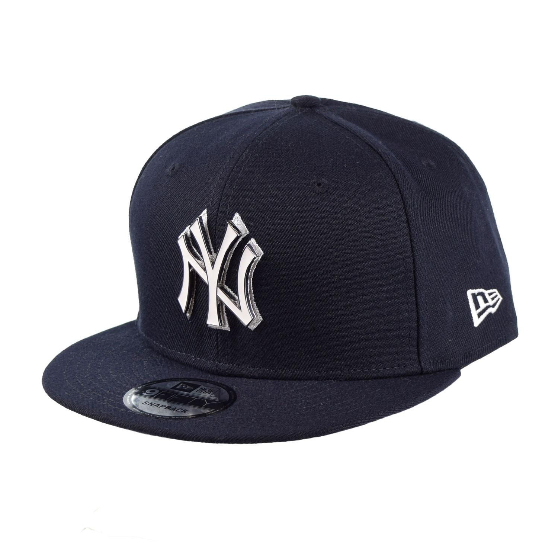 New Era New York Yankees Metal Thread 9Fifty Snapback Cap Hat Black 11840240