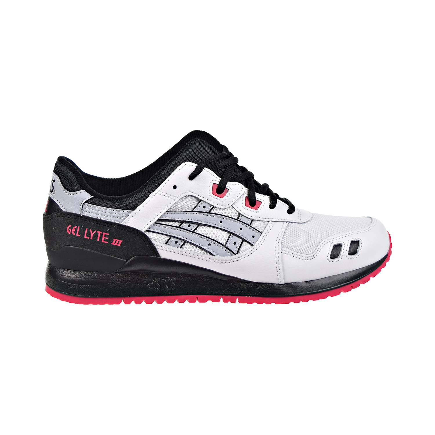 reputable site 577d3 8eb6b Details about Asics Tiger Gel-Lyte III Mens Shoes White/Piedmont Grey  1191A245-100