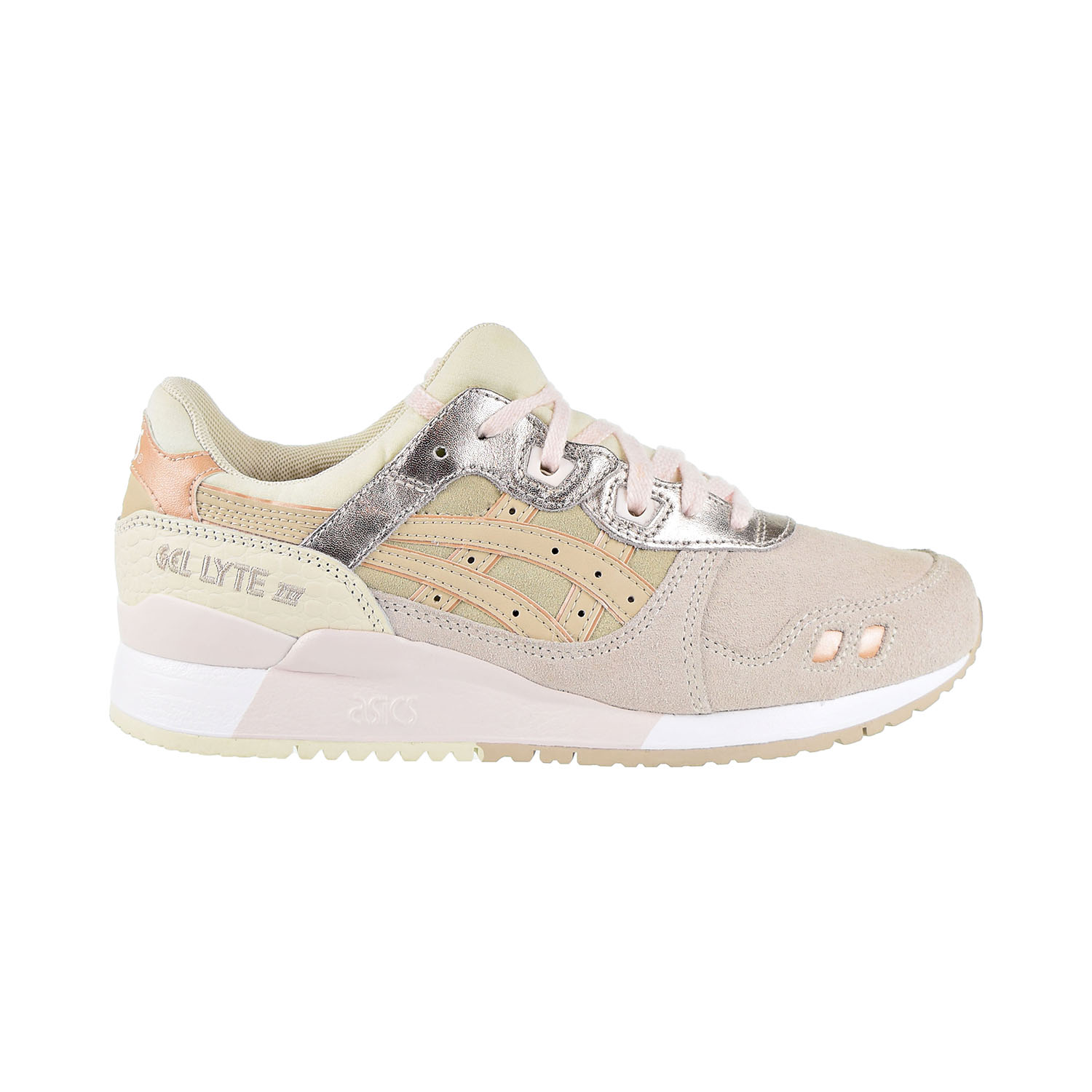 low priced 26d2b 1c82b Details about Asics Gel-Lyte III Women's Shoes Blush/Feather Grey  1192A114-700