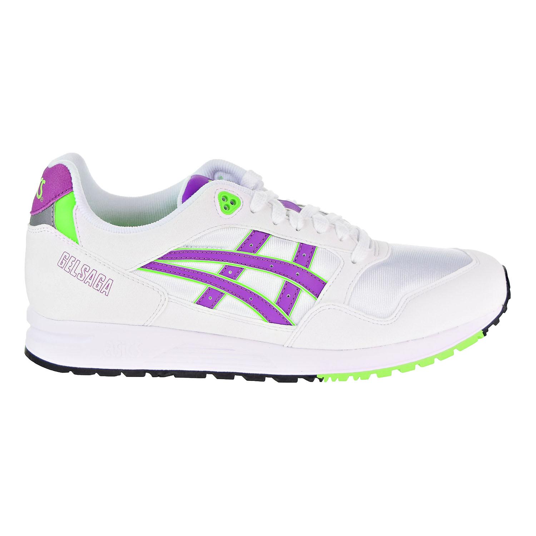 Details zu Asics Tiger Gel Saga Men's Shoes White Orchid 1193A071 100