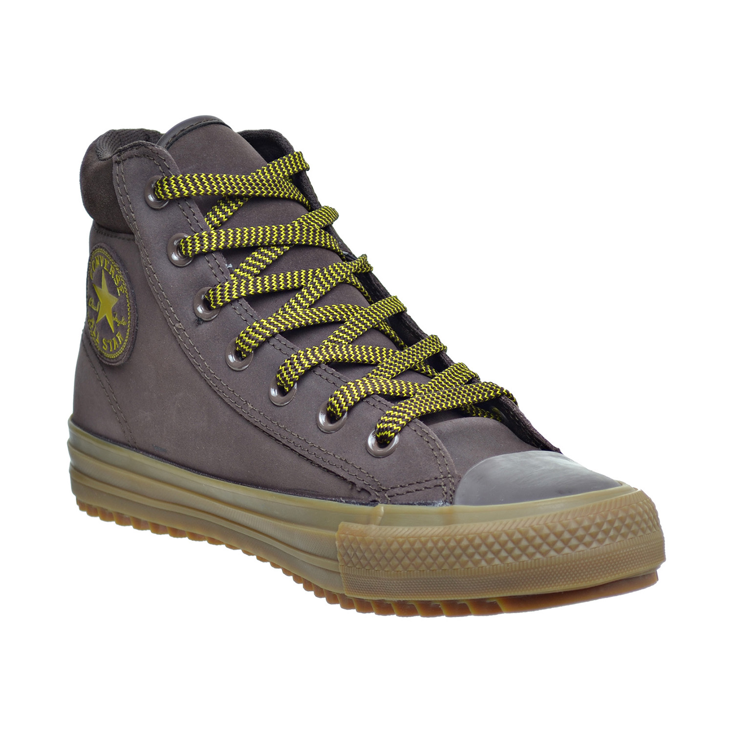 ed3eed50f2b9ff Details about Converse Chuck Taylor All Star PC High Top Men s Boots Burnt  Umber Lemon 153674C