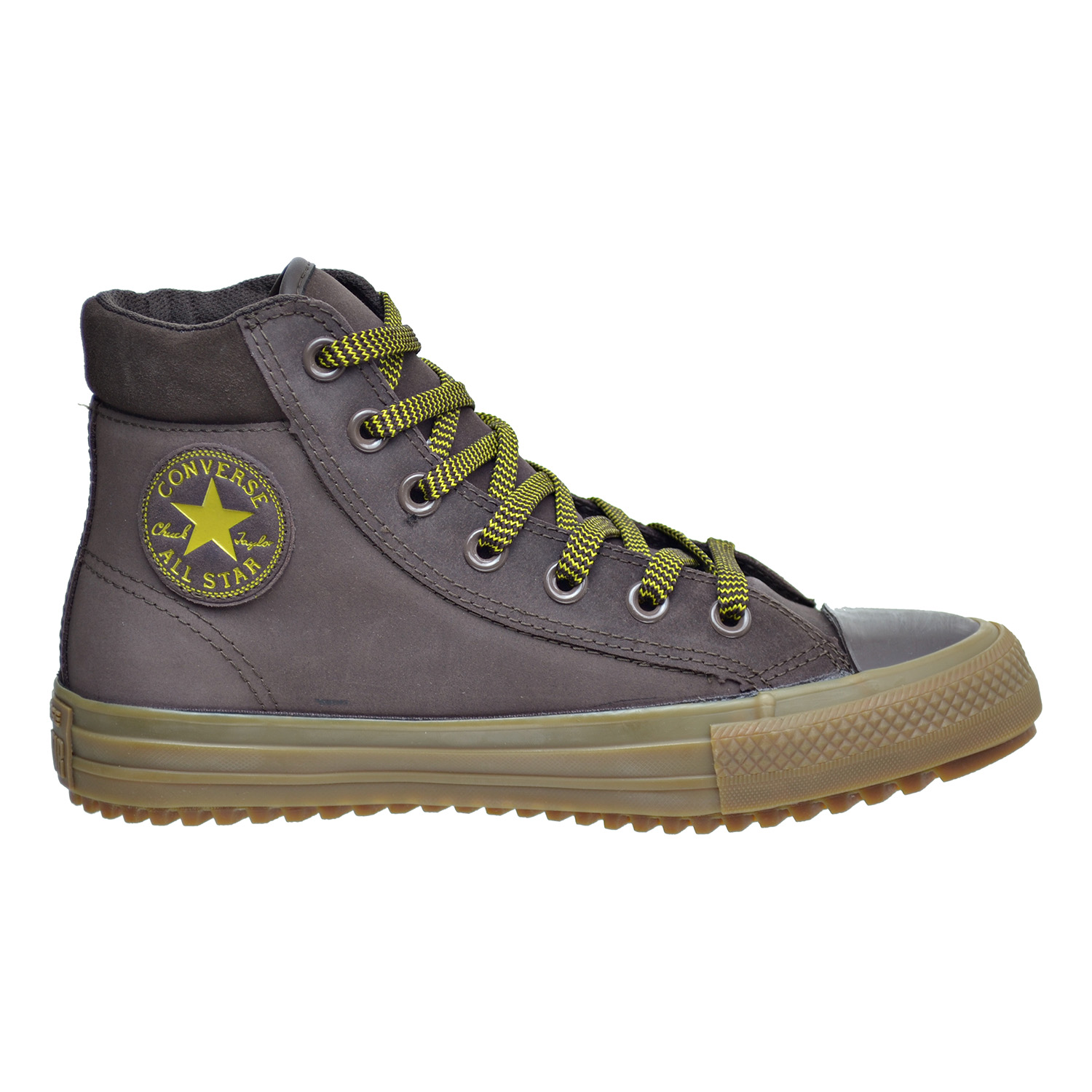 3f83e6bf216cae Converse Chuck Taylor All Star PC High Top Men s Boots Burnt  Umber Lemon Gum 153674c