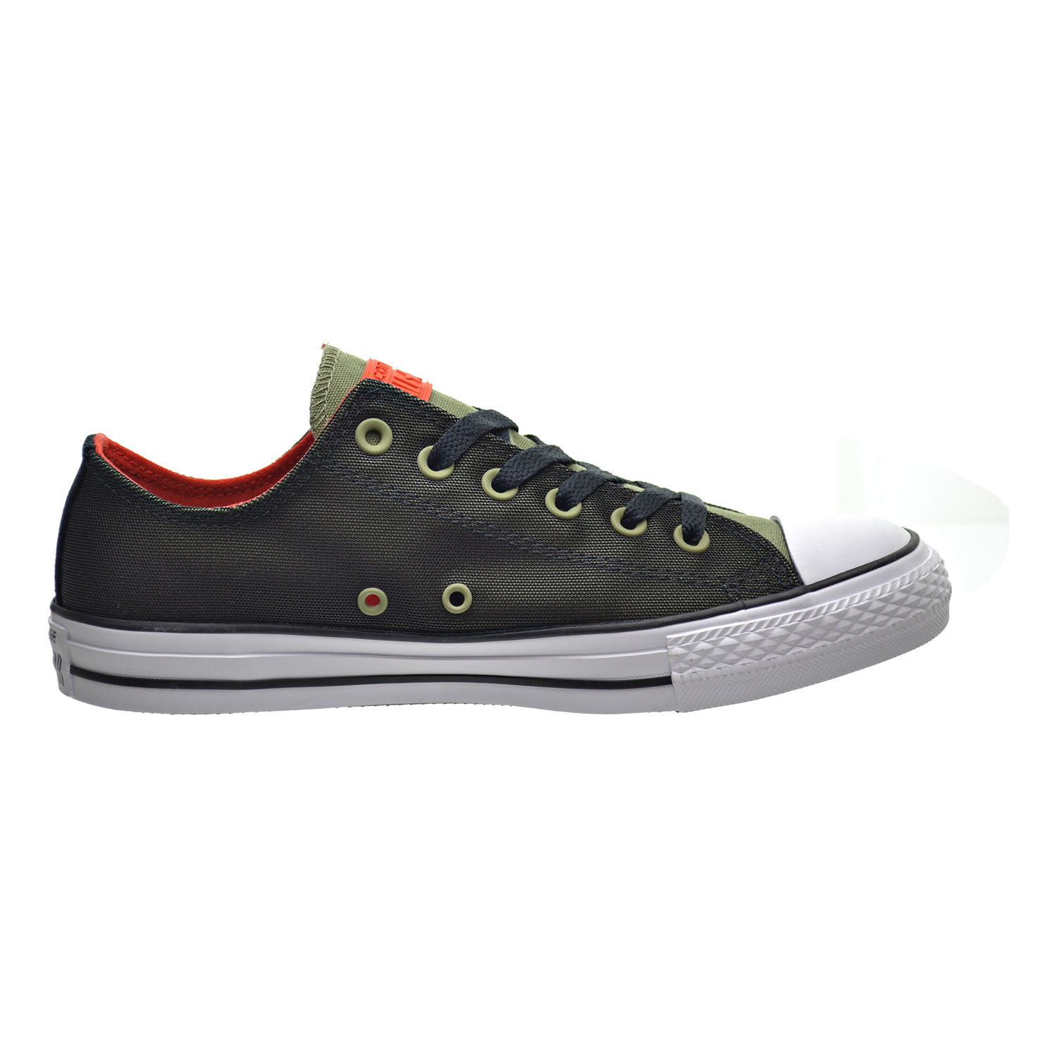 ebe9515a0274 Converse Chuck Taylor All Star OX Kurim Unisex Shoes Fatigue Green Black Signal  Red 153970c