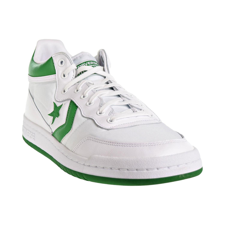 ccca7a9ec82a6a Converse Fastbreak 83 Mid Men s Shoes White Green 156973C