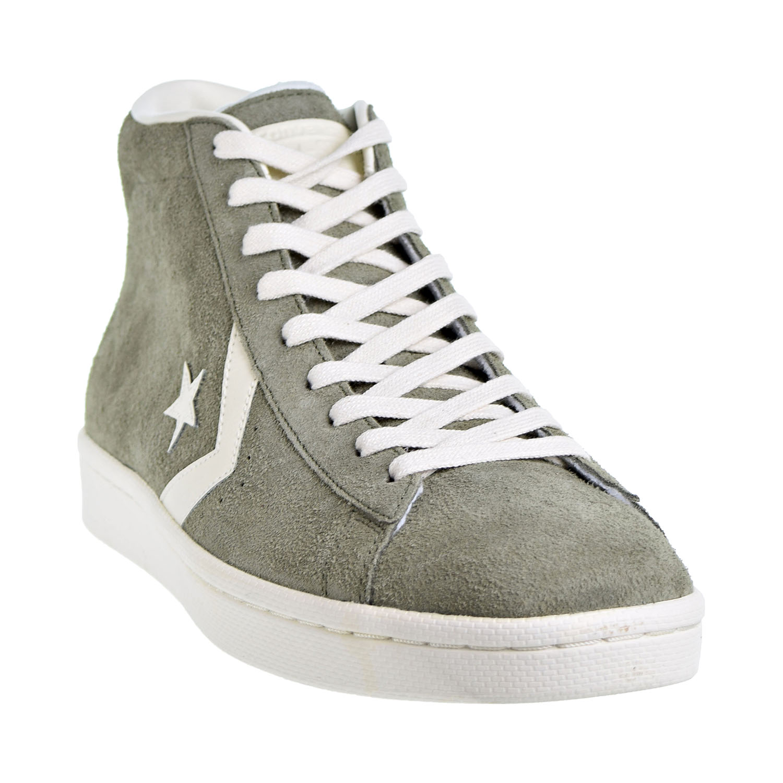 476d92fc57b3 Converse Pro Leather Mid Men s Shoes Medium Olive Egret 157690C