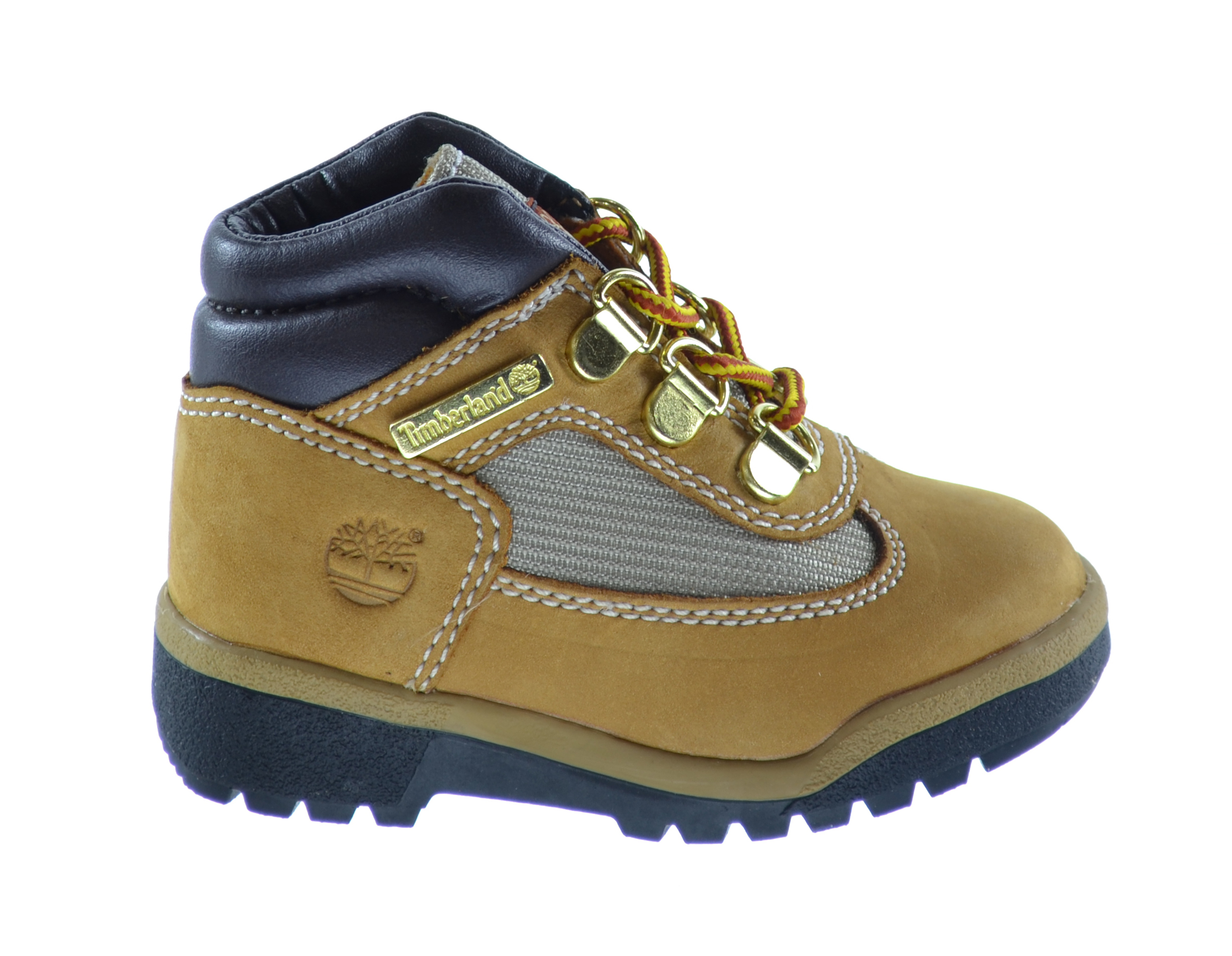 K Timberland Field Boot Leather and Fabric Field Toddler//Little Kid//Big Kid