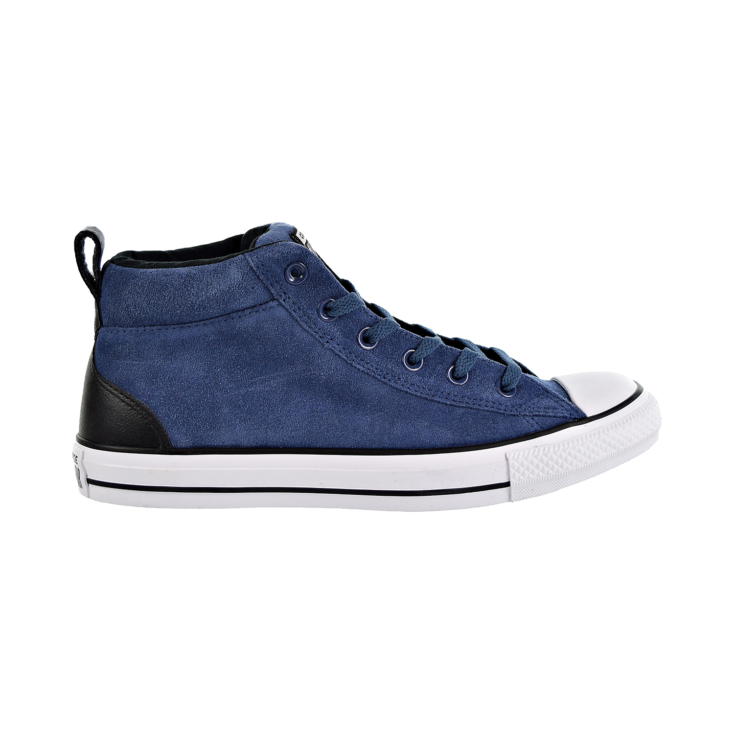 Converse Chuck Taylor All Star Street Mid Unisex Shoes Mason Blue Black White  161468c cd0c2233d