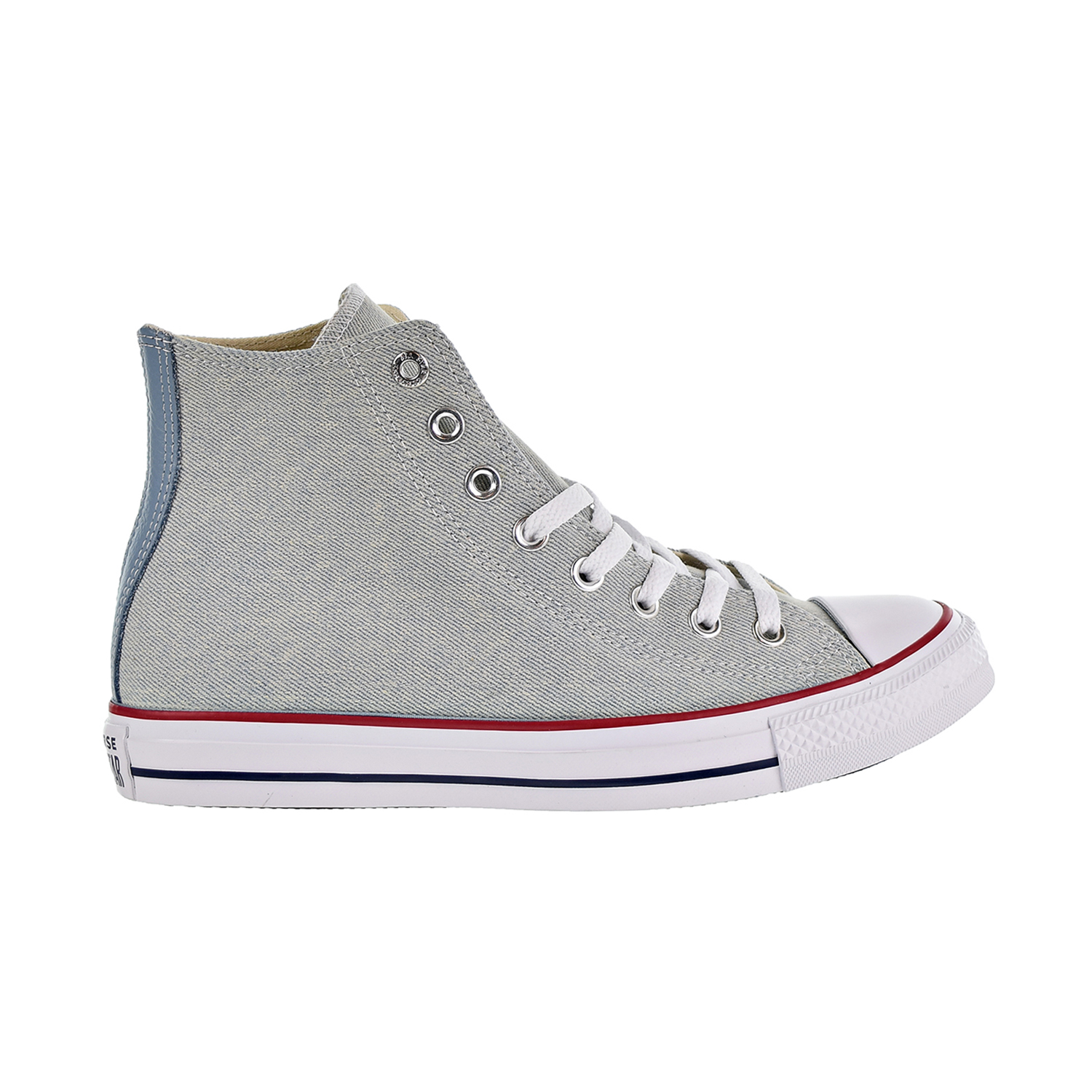 55677602c4ca Details about Converse Chuck Taylor All Star Hi Unisex Shoes Light  Blue White Brown 161491c