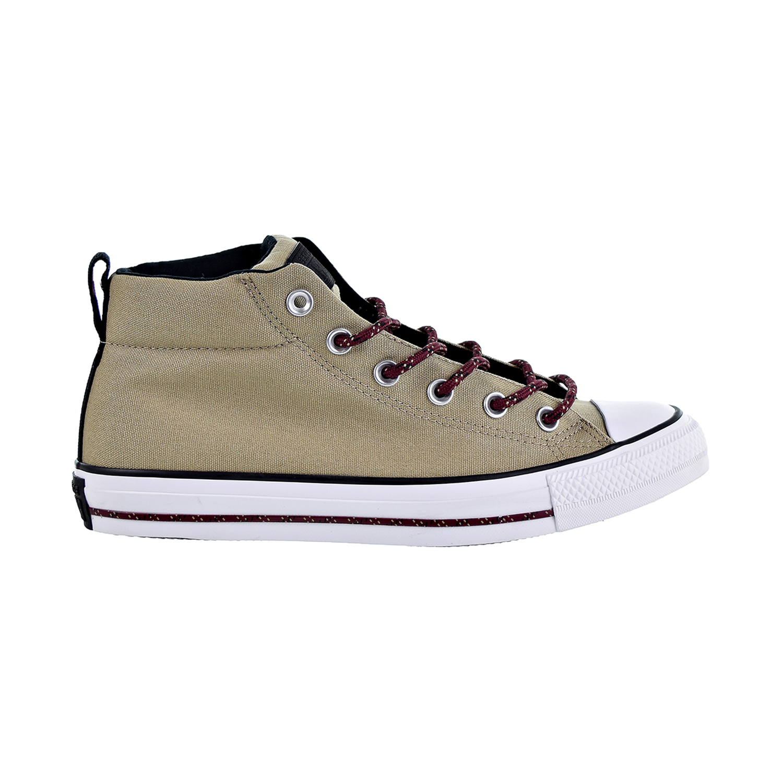 cc842c711578fd Converse Chuck Taylor All Star Street Mid Unisex Shoes Khaki Black White  162383f