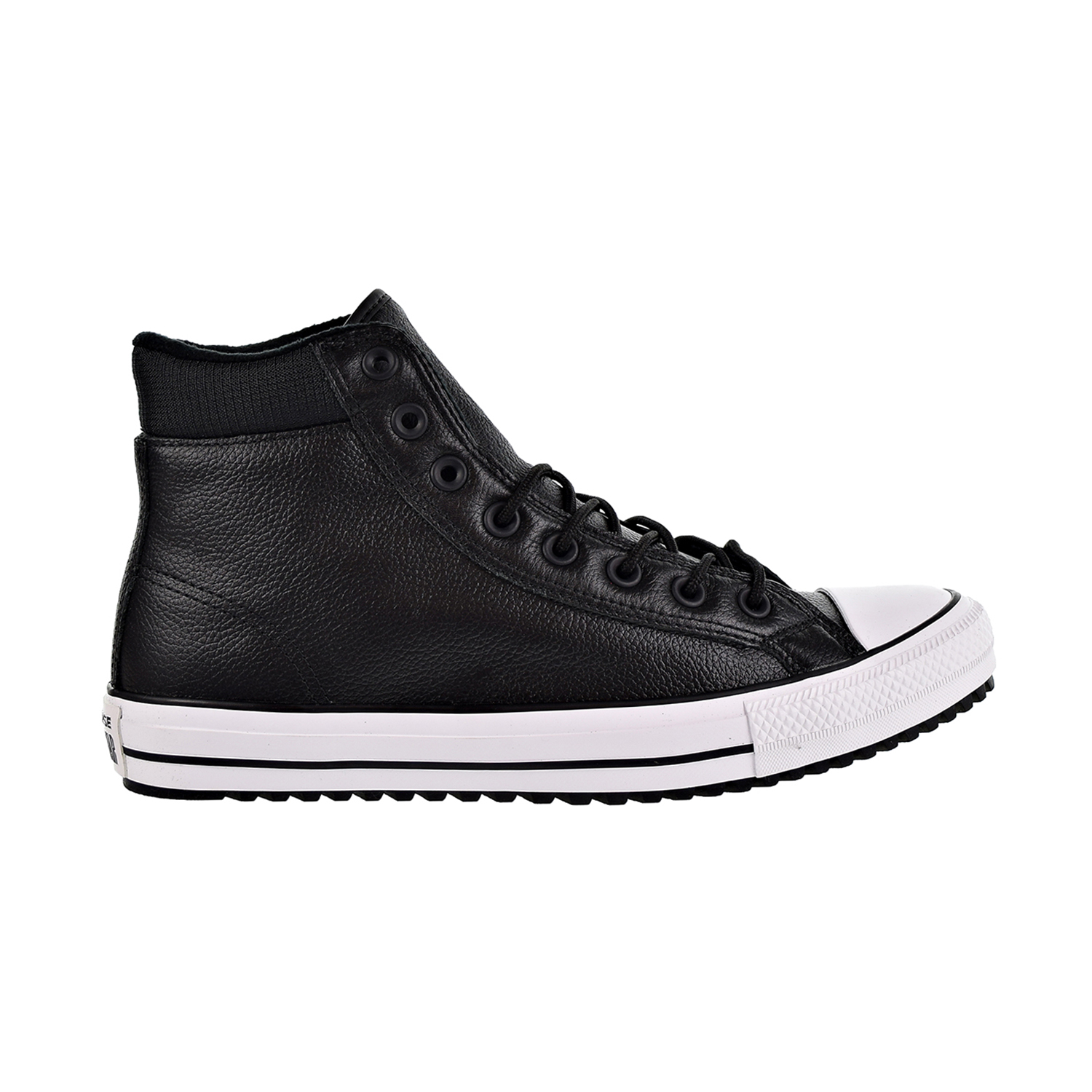 Details about Converse Chuck Taylor All Star PC Leather UnisexMen's Boots BlackWhite 162415C