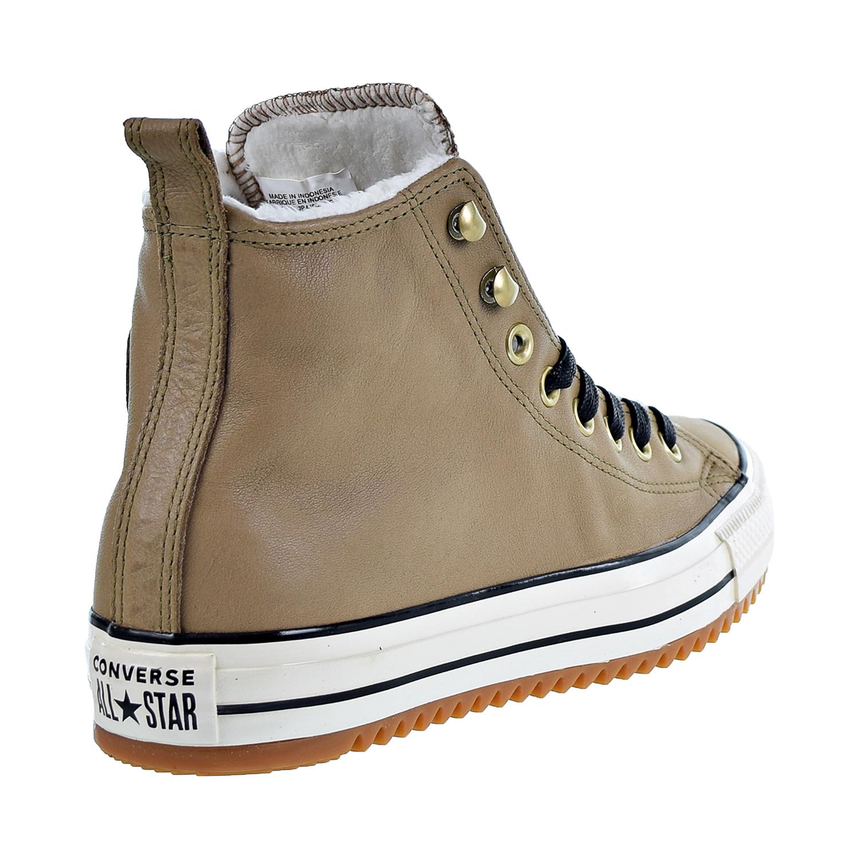83b75cc9c62b Converse Chuck Taylor All Star Hiker Boot Hi Unisex Men s Shoes Teak Black  Ivory 162479c