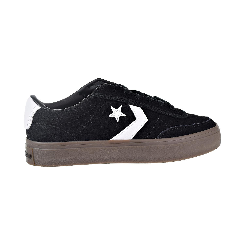 12b53b09b204 Details about Converse Courtlandt OX Big Kids  Men s Shoes Black White Brown  162570C