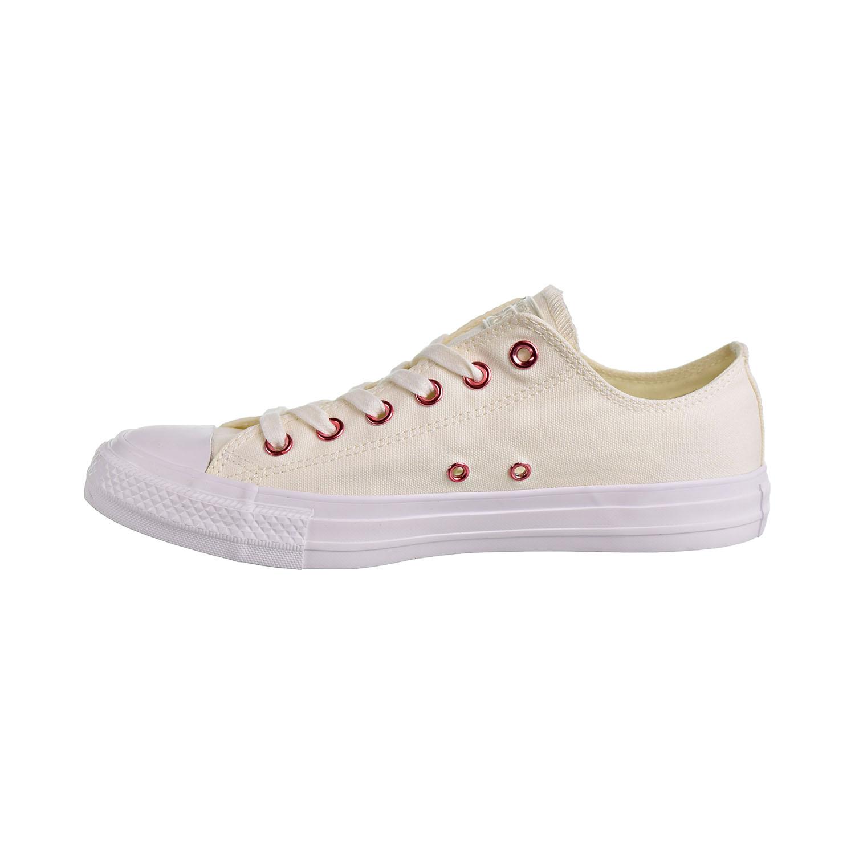 c8f8fc95de265 Converse Chuck Taylor All Star Ox Hearts Unisex Shoes Egret Rhubarb White  163283c