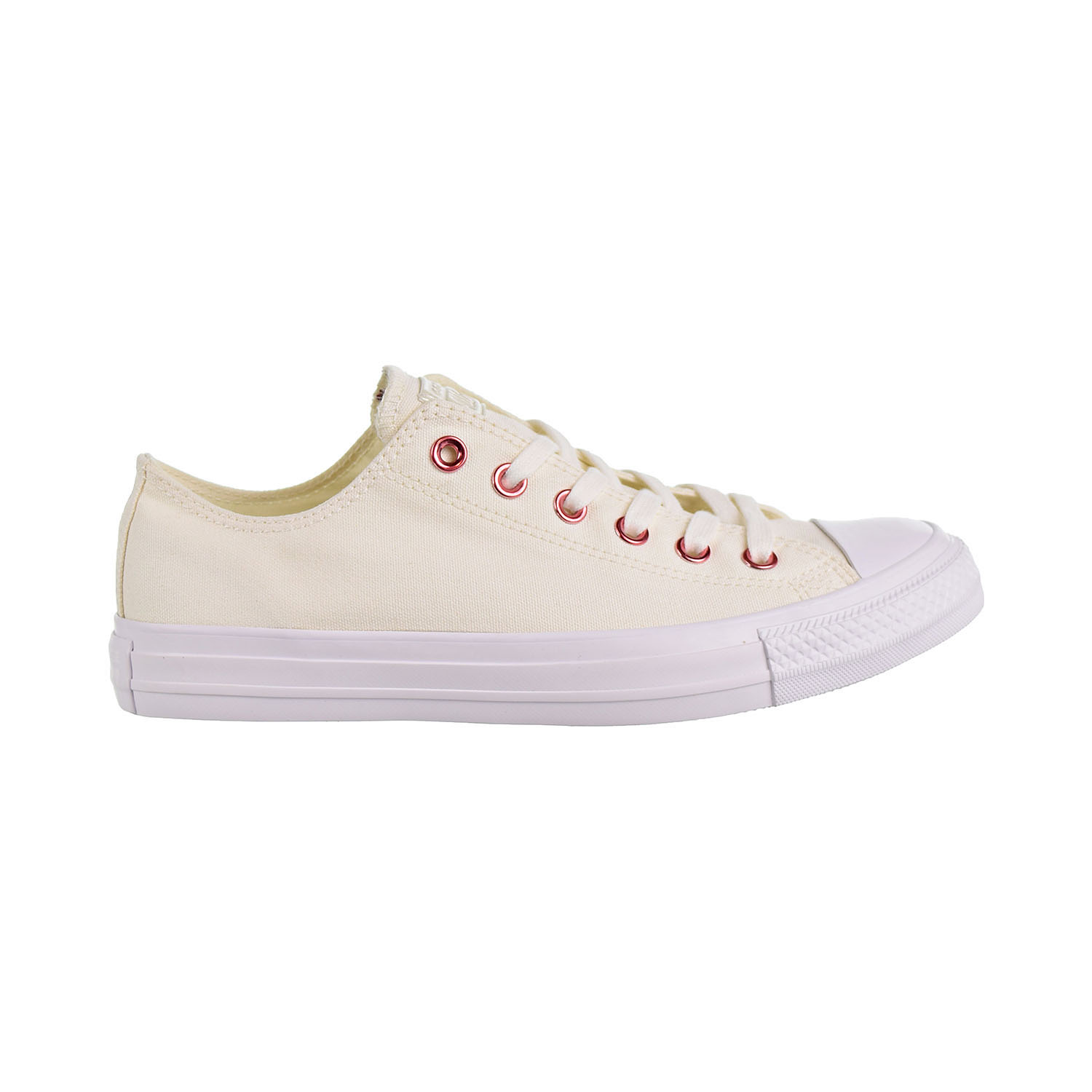 c668cc9d3d53 Details about Converse Chuck Taylor All Star Ox Hearts Unisex Shoes  Egret Rhubarb 163283c
