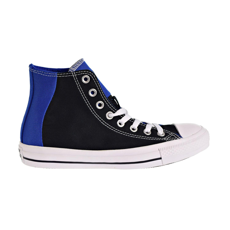 5c02bec58ba4 Details about Converse Chuck Taylor All Star Hi Big Kids Men s Shoes Black  Blue White 163348F