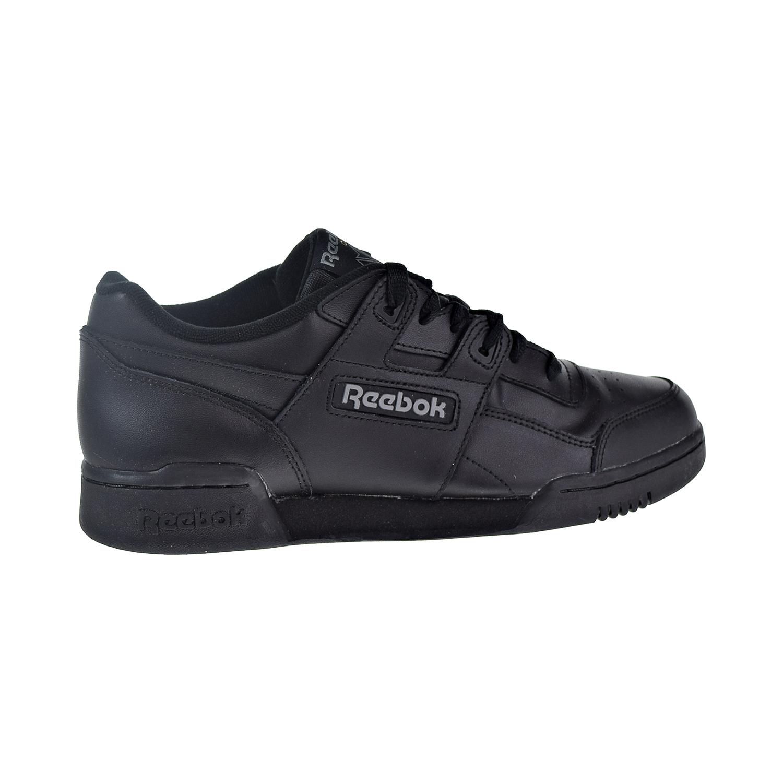 Reebok Workout Plus Men's Shoes Charcoal Black 2760