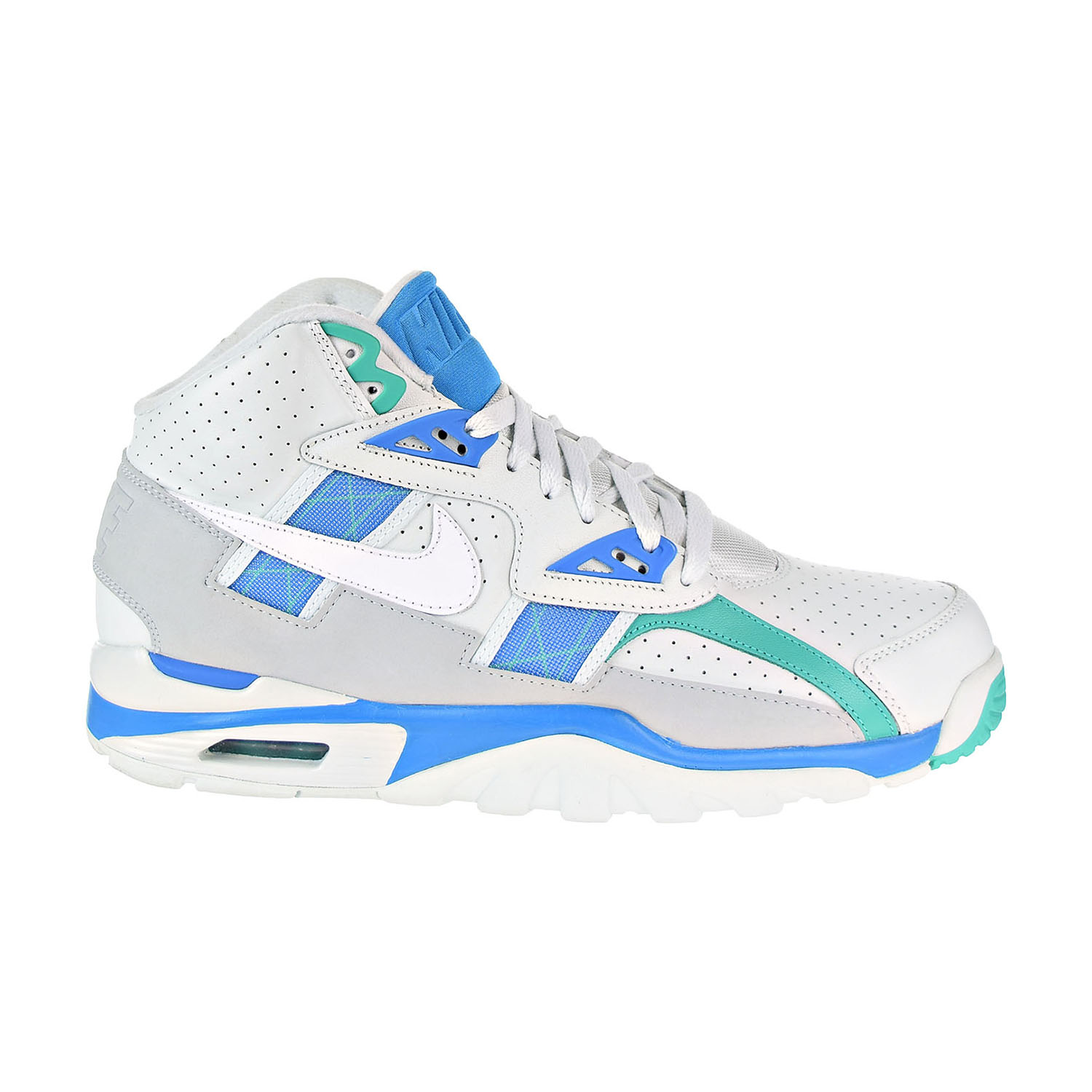 d4df2c3a58ec Details about Nike Air Trainer SC High Bo Jackson Mens Shoes Barely Grey  White-Blue 302346-019