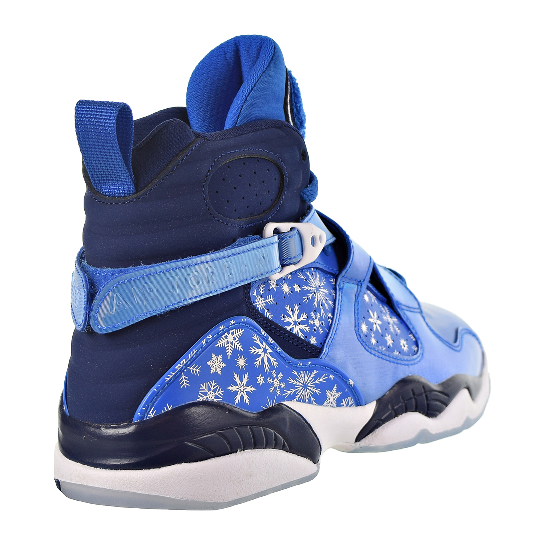 678a7c14c06fb7 Nike Air Jordan 8 Retro Big Kid s Shoe Cobalt Blaze Blue Void White 305368 -400