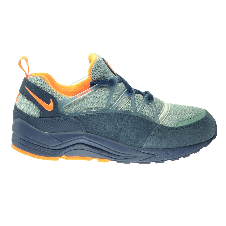 6b1da391317d Nike Air Huarache Light Men s Shoes Midnight Navy Bright Citrus-Squadron  Blue 306127-402