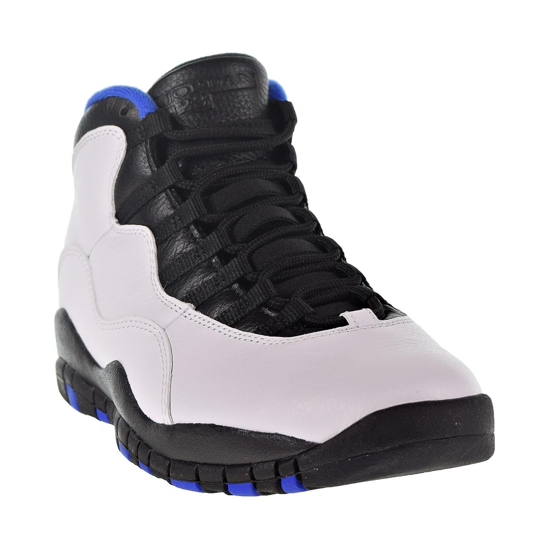 5a1f3d100fb641 Nike Air Jordan 10 Retro Men s Shoe White Black Royal Blue 310805 ...