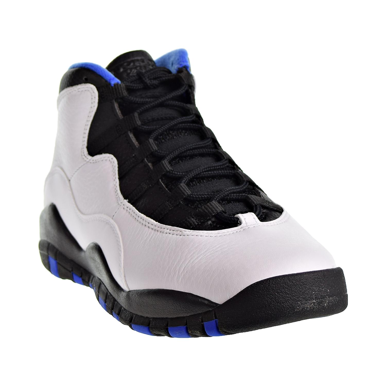 "310807 108 Air Jordan Retro 10 /""Orlando/"" White//Black-Royal Blue PS"