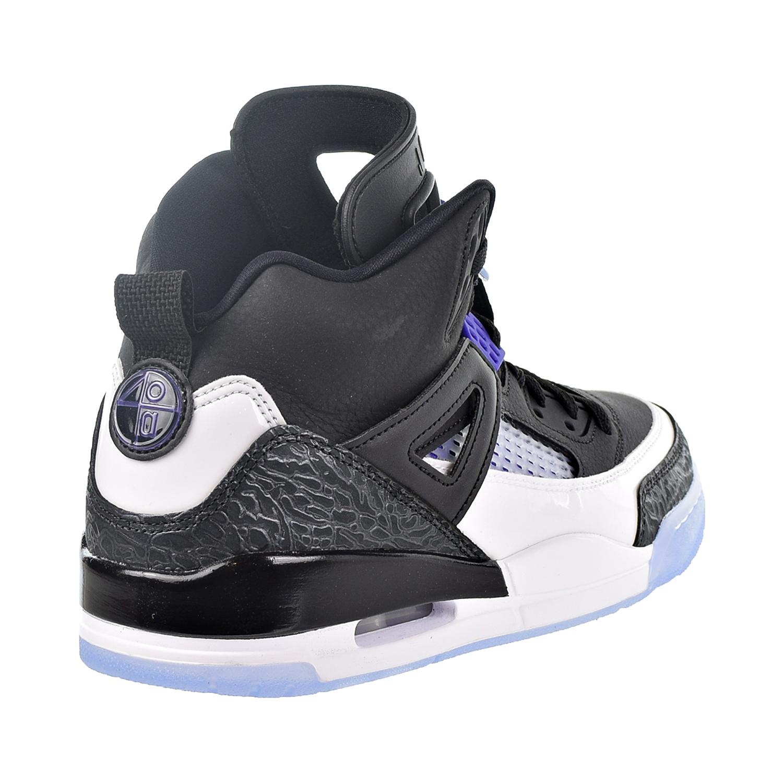 Nike Air Jordan Spizike Men s Shoes Black Dark Concord White 315371 ... 3ccb80910