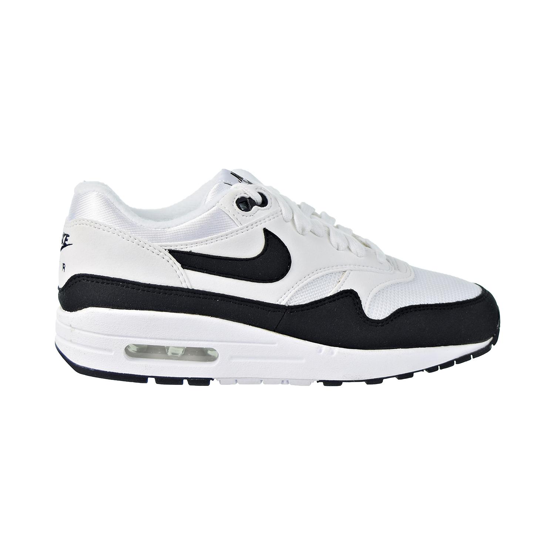 Detalles acerca de Nike Air Max 1 Zapatos para mujer blanconegro 319986 109 mostrar título original