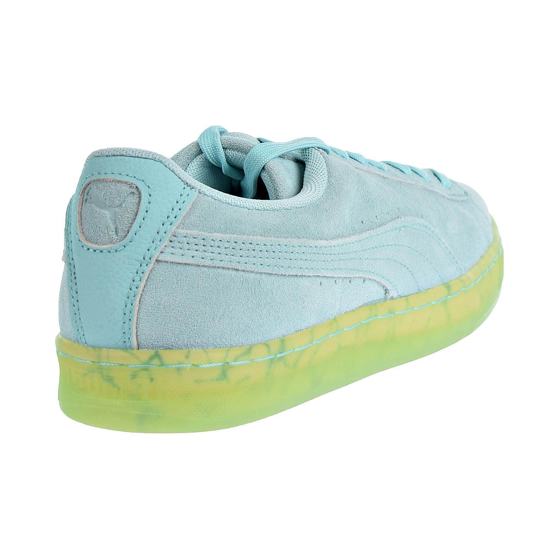 28df05ba56ce Puma Suede Classic Easter FM Men s Shoes Aruba Blue Aruba Blue 362556-01