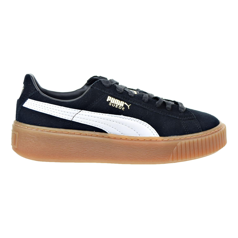 Details about Puma Suede Platform Core Women's Sneakers BlackWhite 363559 02
