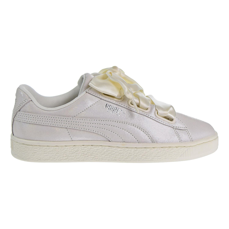 PUMA Basket Heart Opulence Women Sneakers White 364108 02