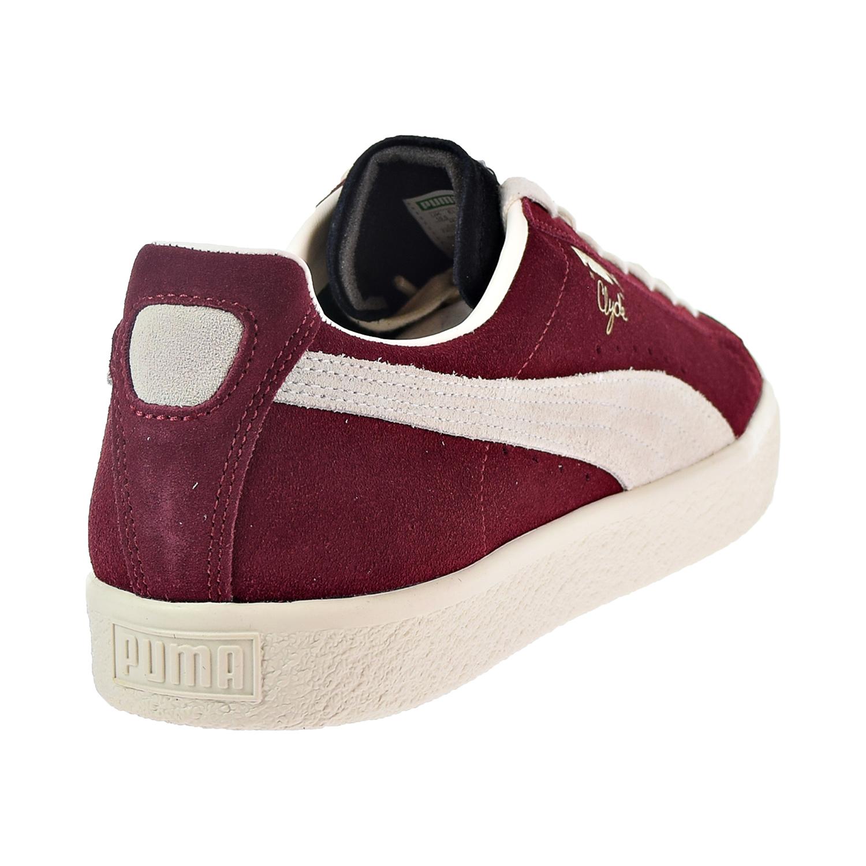 8f19ed643e8 Puma Clyde From The Archive Men s Shoes Black Cordovan Whisper White  365319-04