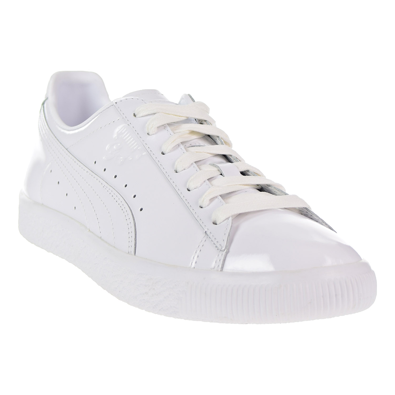 Puma Clyde Dressed Part Three Men s Shoes Puma White 366233-02  b2bb67f2a