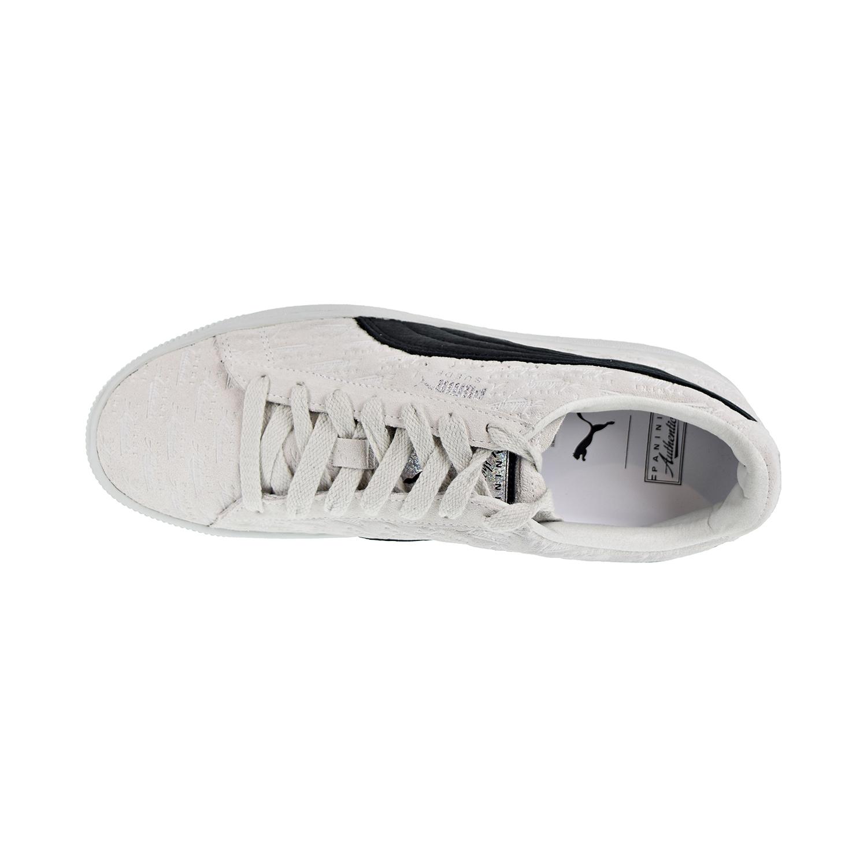 88cdc72a4a7 Puma Suede Classic x PANINI Men s Shoes White Black 366323-01