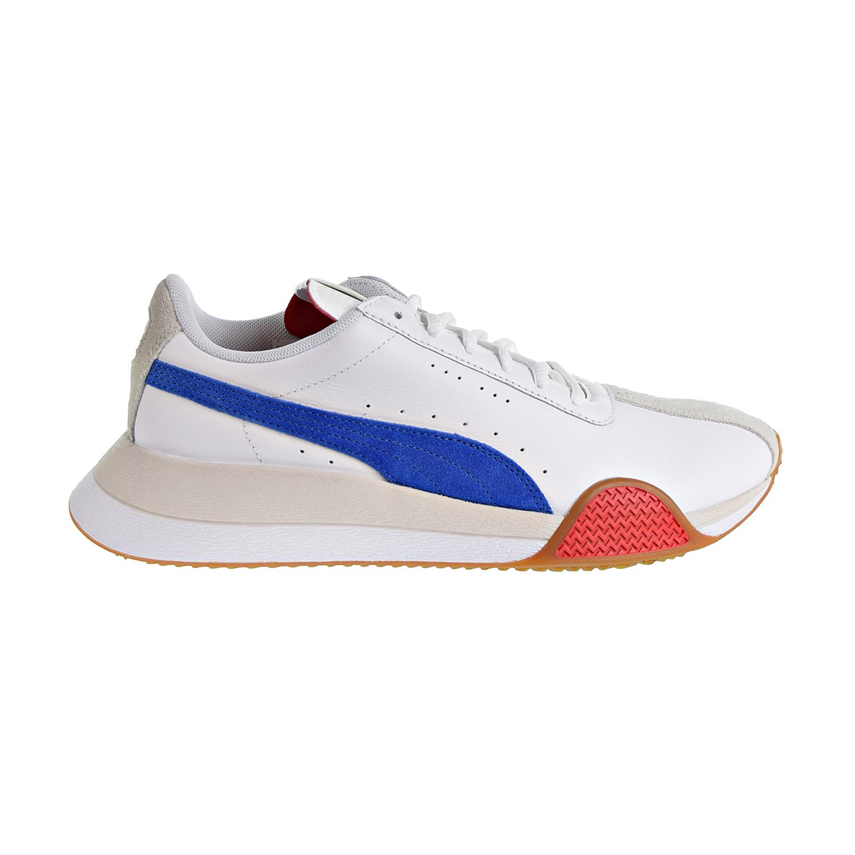 Détails sur Puma Turin _ 0 Chaussures Hommes Puma BlancTurkish SeaHigh Risk Red 367794 01 afficher le titre d'origine