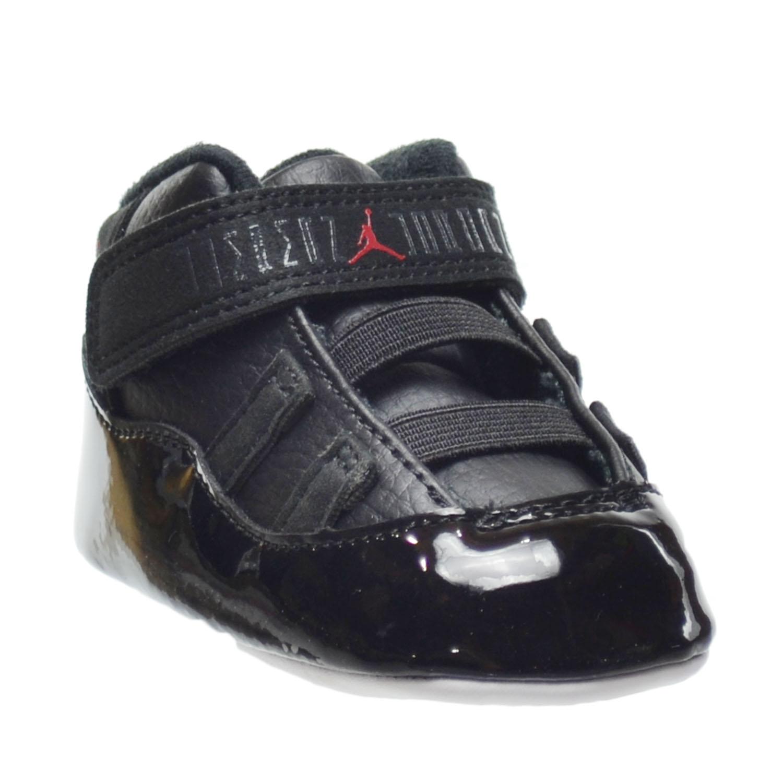 e7f952b4fa5 Jordan 11 Retro Gift Pack Crib Shoes Black Gym Red-White-Anthracite 378049- 002