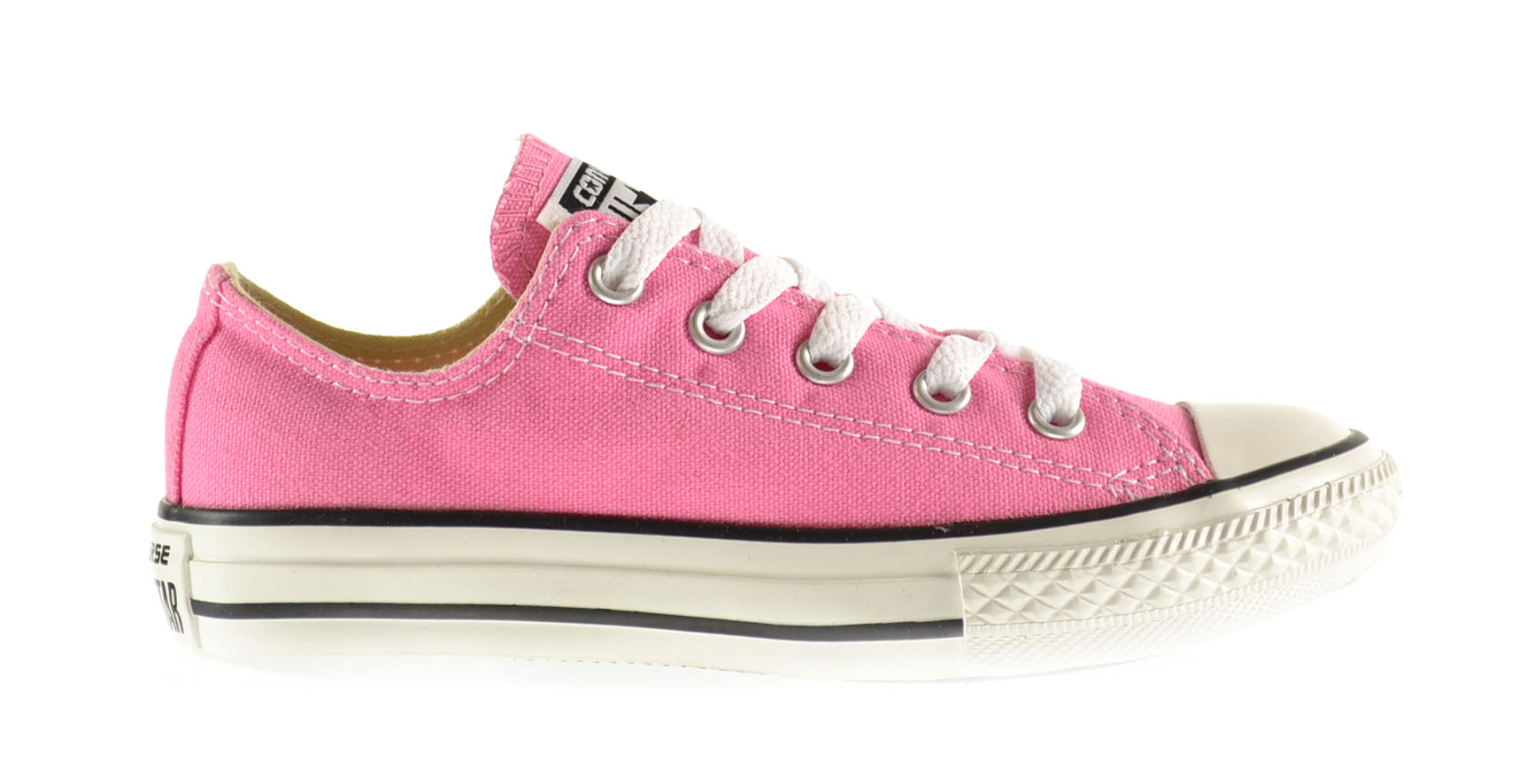 3J238 Converse Kids/' Chuck Taylor All Star Canvas Low Top Sneaker Pink