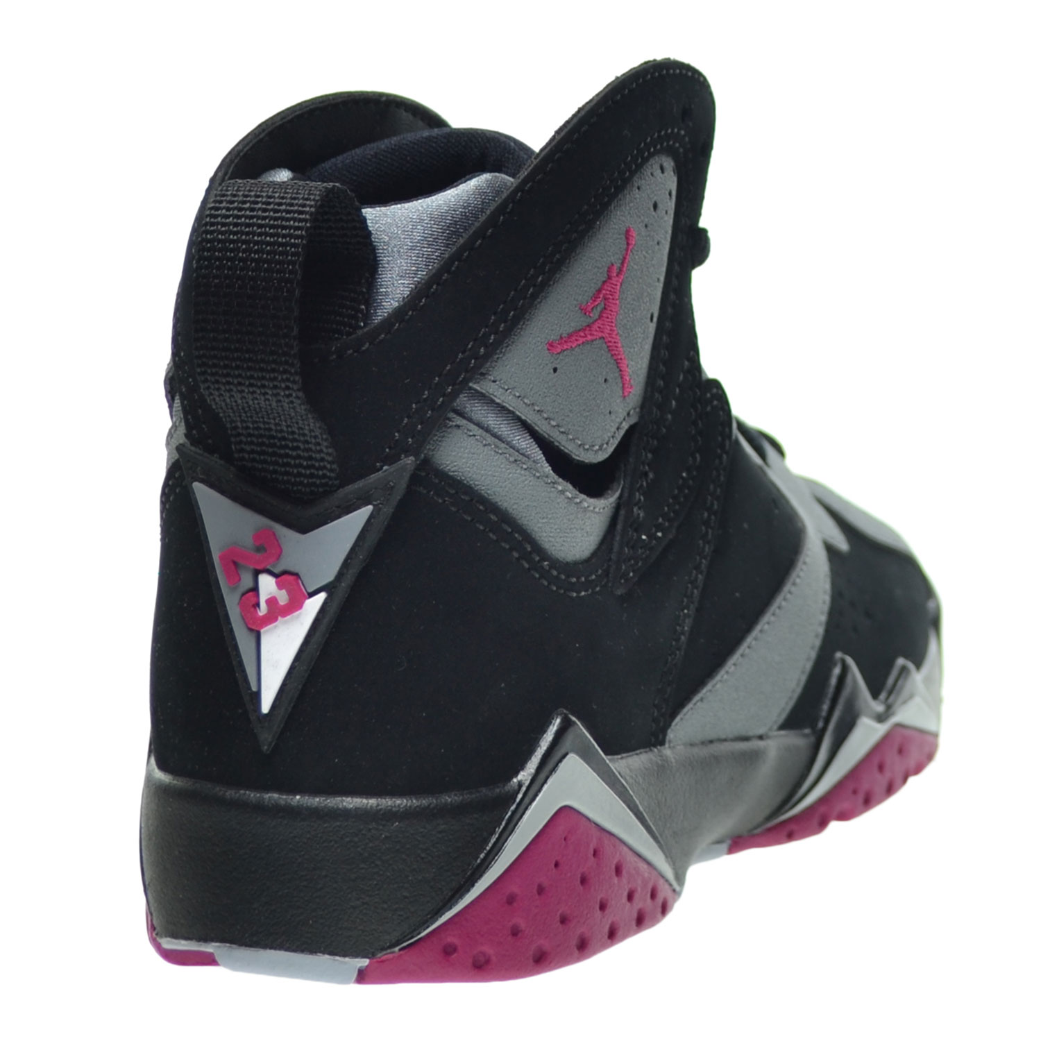 quality design ed232 5c2ca Air Jordan 7 Retro GG Big Kid s Shoes Black Sport Fuchsia Wolf Grey  442960-008