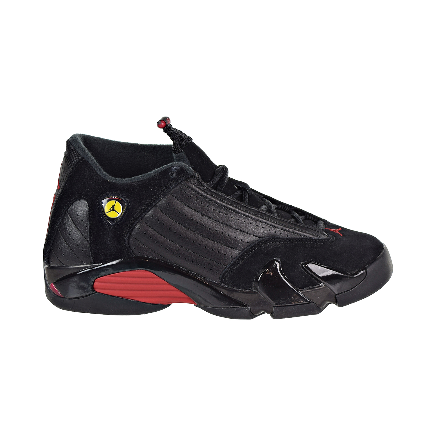 the latest b979c f9a90 Details about Nike Air Jordan 14 Retro Big Kids  Shoes Black Varsity  Red Black 487524-003