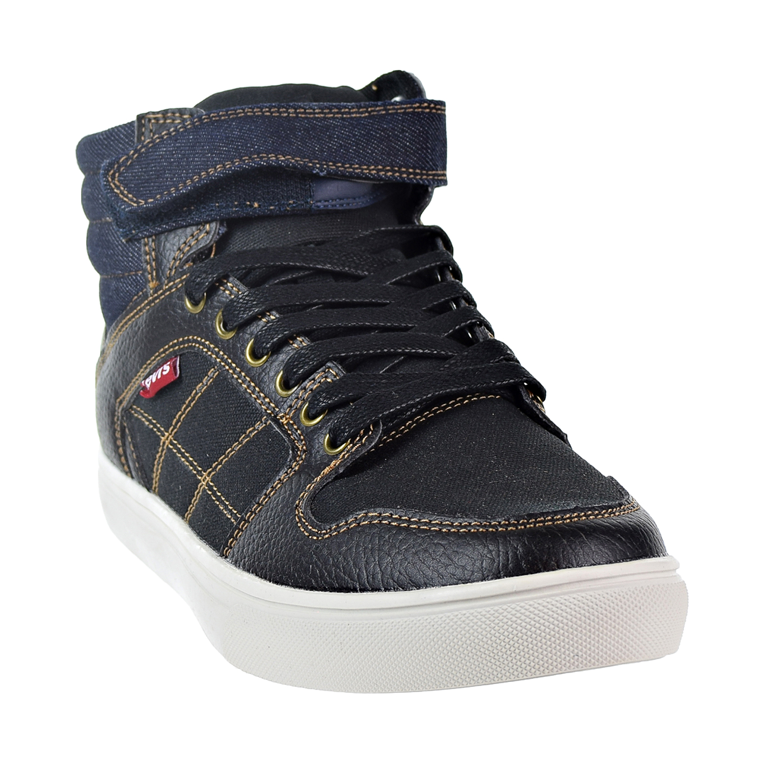 98011938044e Details about Levis Oakley Casual Men's Shoes Black/Indigo 517397-Q66