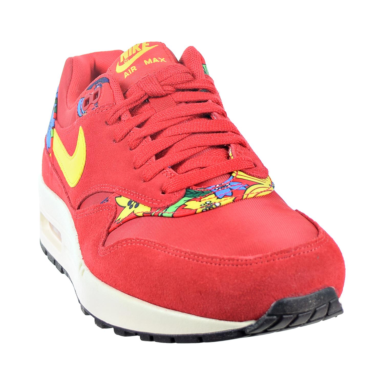0b653d4957 Nike Air Max 1 Print 'Aloha' Women's Shoes University Red/True  Yellow/Silver/Black 528898-602