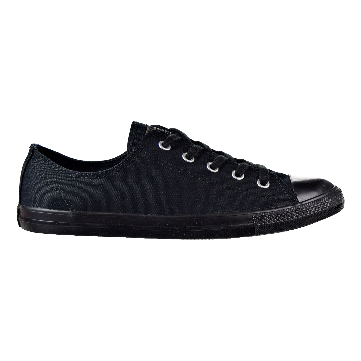 5298c0345c46 Converse Chuck Taylor All Star Dainty Ox Women s Shoes Black Black 532354f