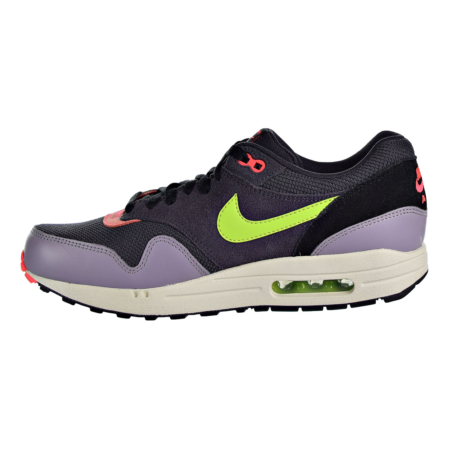 cheap for discount a2931 d8d56 Nike Air Max 1 Essential Men's Sneaker Shoes Cave Purple/Green 537383-500