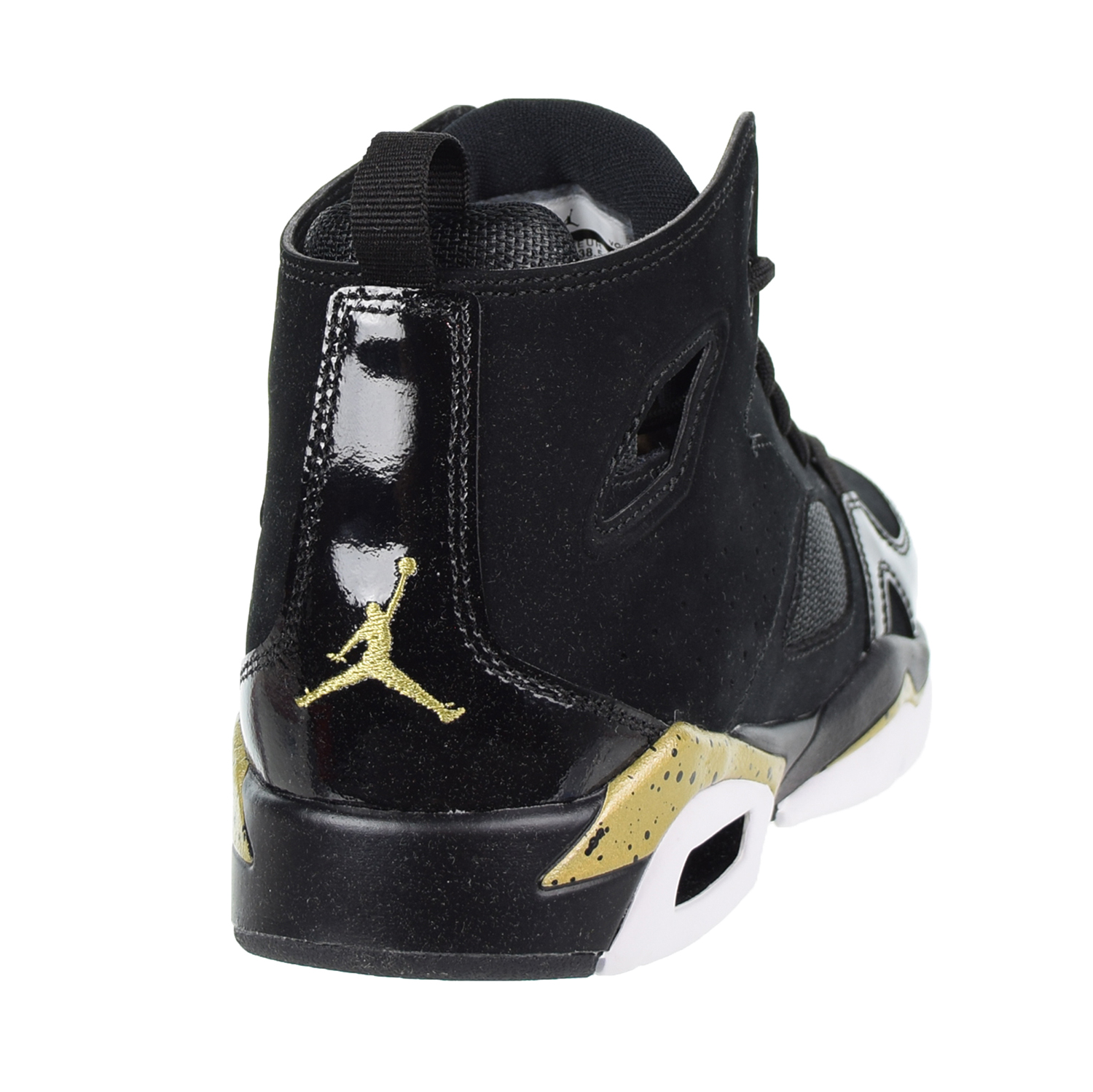 5df721389aa3a0 Jordan Flight Club  91 Big Kids  Shoes Black Metallic Gold White 555472-031