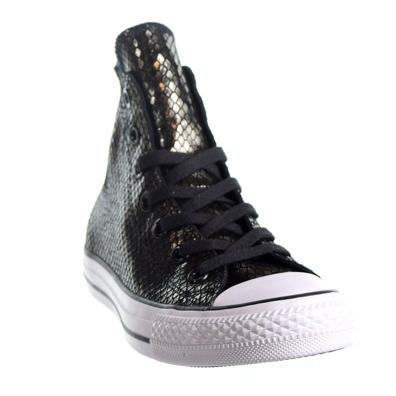 49c5ea0ac268 Converse Chuck Taylor All Star HI Women s Shoes Mettalic Snake Black White  555966c